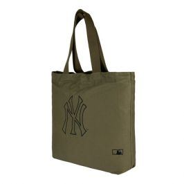 Taška New Era Canvas Tote MLB New York Yankees Olive/Black
