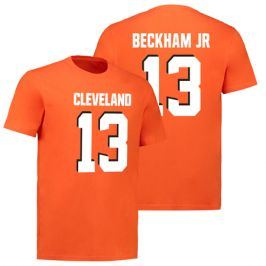 Pánské tričko Fanatics NFL Cleveland Browns Odell Beckham Jr 13 oranžové