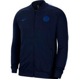 Pánská fotbalová bunda Nike Chelsea FC tmavě modrá