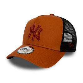 Kšiltovka New Era 9Forty Trucker League Essential MLB New York Yankees Rust/Black