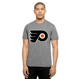 Pánské tričko 47 Brand Club Tee NHL Philadelphia Flyers šedé