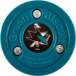 Puk Green Biscuit San Jose Sharks