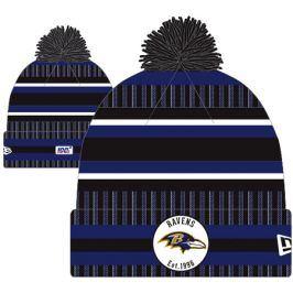 Zimní čepice New Era Onfield Cold Weather Home NFL Baltimore Ravens