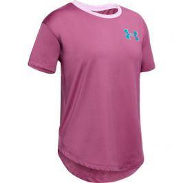 Dívčí tričko Under Armour HG SS růžové