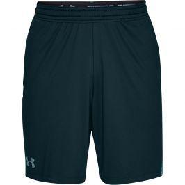 Pánské šortky Under Armour MK1 Short Inset Fade tmavě zelené