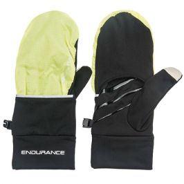 Běžecké rukavice Endurance Silverton Mittens neonově žluté