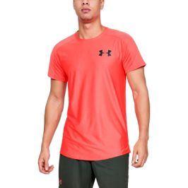 Pánské tričko Under Armour MK1 SS Emboss oranžové