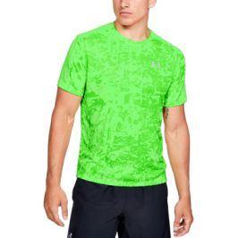 Pánské tričko Under Armour Speed Stride Printed SS zelené