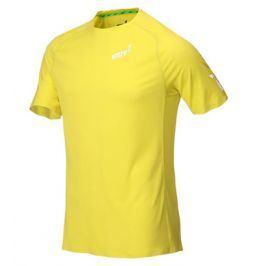 Pánské tričko Inov-8 Base Elite SS žluté