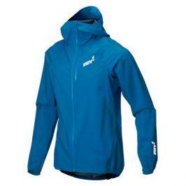 Pánská bunda Inov-8 Stormshell FZ modrá