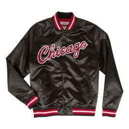Bunda Mitchell & Ness Lightweight Satin Jacket NBA Chicago Bulls