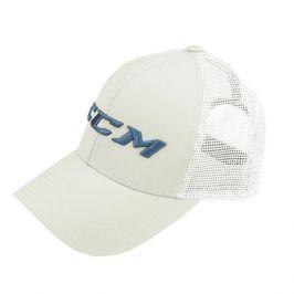 Kšiltovka CCM Mesh Back Trucker Blanc De Blanc