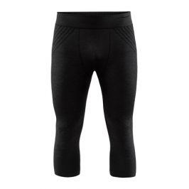 Pánské 3/4 spodky Craft Fuseknit Comfort černé