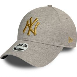 Dámská kšiltovka New Era 9Forty Metallic Logo MLB New York Yankees šedá