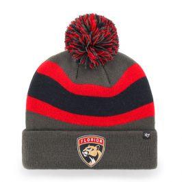 Zimní čepice 47 Brand Breakaway Cuff Knit NHL Florida Panthers šedá