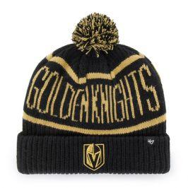 Zimní čepice 47 Brand Calgary Cuff Knit NHL Vegas Golden Knights černá