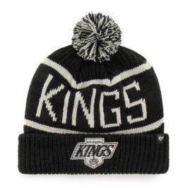 Zimní čepice 47 Brand Calgary Cuff Knit NHL Los Angeles Kings černá