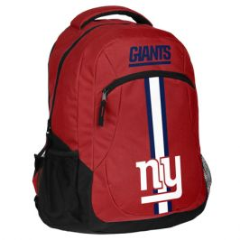 Batoh Forever Collectibles Action Backpack NFL New York Giants
