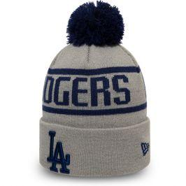 Zimní čepice New Era Bobble Knit MLB Los Angeles Dodgers