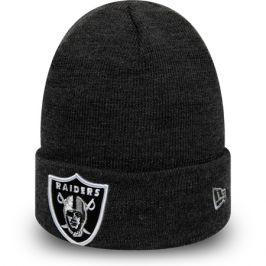 Zimní čepice New Era Heather Essential Knit NFL Oakland Raiders