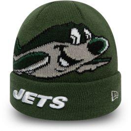 Dětská zimní čepice New Era Infant Mascot Cuff Knit NFL New York Jets