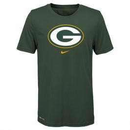 Dětské tričko Nike Essential Logo NFL Green Bay Packers