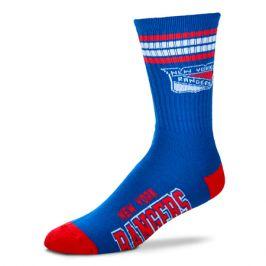 Ponožky FBF 4 Stripes Crew NHL New York Rangers