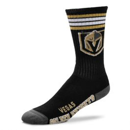 Ponožky FBF 4 Stripes Crew NHL Vegas Golden Knights