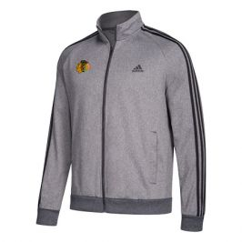 Pánská sportovní bunda adidas Track Jacket NHL Chicago Blackhawks