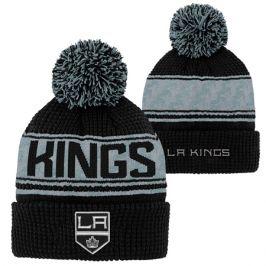 Dětská zimní čepice Outerstuff Pattern Jacquard Cuff Pom NHL Los Angeles Kings