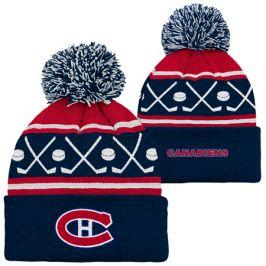 Dětská zimní čepice Outerstuff Face Off NHL Montreal Canadiens