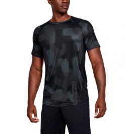Pánské tričko Under Armour MK1 SS Printed černé