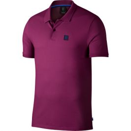 Pánské tričko Nike Court Advantage Polo Essential True Berry