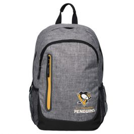 Batoh Forever Collectibles Heather Grey Bold NHL Pittsburgh Penguins