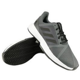 Pánská tenisová obuv adidas CourtJam Bounce M Clay Black