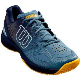 Pánská tenisová obuv Wilson Kaos Comp 2.0 Clay Navy/Blue