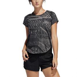 Dámské tričko adidas Own The Run šedo-černé