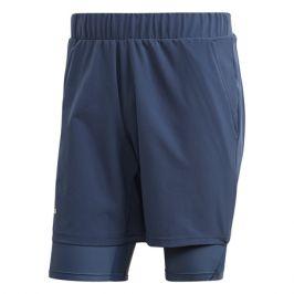 Pánské šortky adidas 2in1 Short Heat.RDY Dark Blue