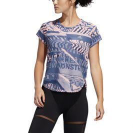 Dámské tričko adidas Own The Run růžovo-modré