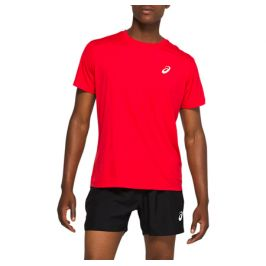 Pánské tričko Asics Silver SS Top červené