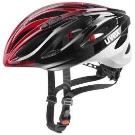 Cyklistická helma Uvex Boss Race černo-červená