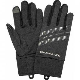 Běžecké rukavice Endurance New South Wales Melange černé