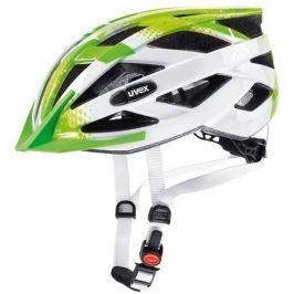 Cyklistická helma Uvex Air Wing limetkovo-bílá