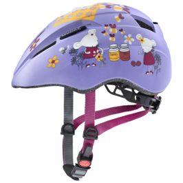 Dětská cyklistická helma Uvex Kid 2 CC lilac mouse