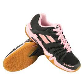 Dámská sálová obuv Babolat Shadow Team Black/Pink