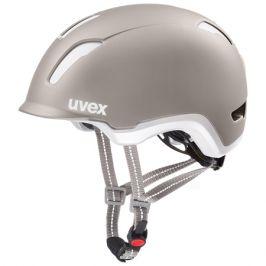Cyklistická helma Uvex City 9 šedá