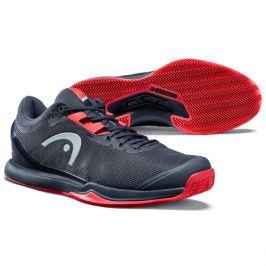 Pánská tenisová obuv Head Sprint Pro 3.0 Clay Navy/Red
