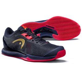 Dámská tenisová obuv Head Sprint Pro 3.0 Clay Navy/Pink