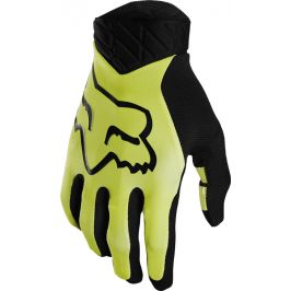 Cyklistické rukavice Fox Flexair Glove žluté