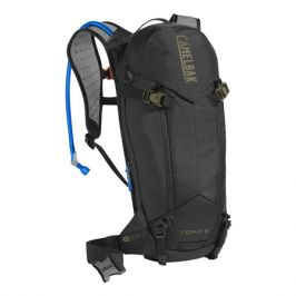 Cyklistický batoh CamelBak Toro  Protector 8 černo-zelený